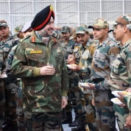Army commander at Ladakh