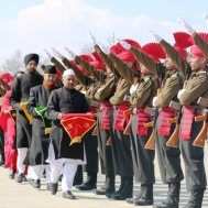 Passing out young soldiers from the State of J&K